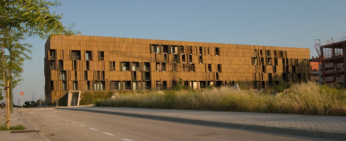Edificio Social En Carabanchel Madrid Foreign Architects