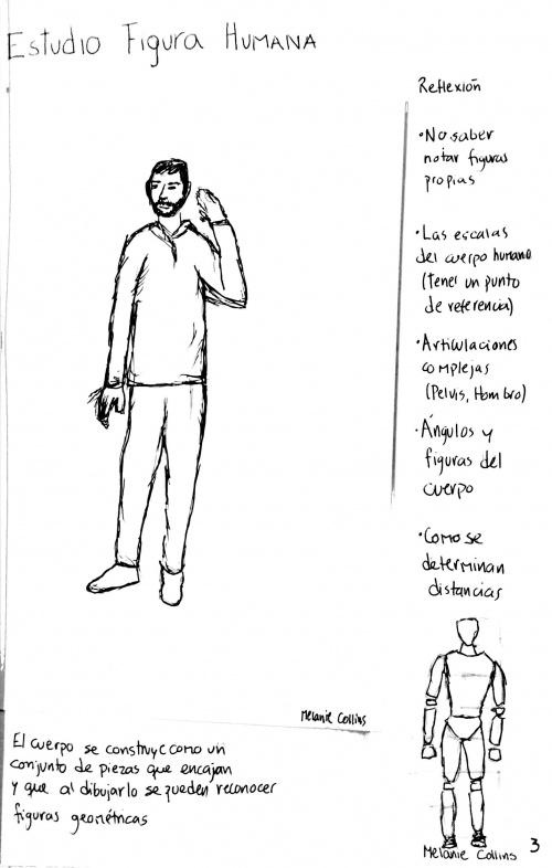 Ce1 Ejercicio 01 Tdh 2018 Dibujo Cuerpo Humano Y Su Estructura