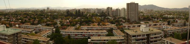 Vista desde techo Torre 15 pisos